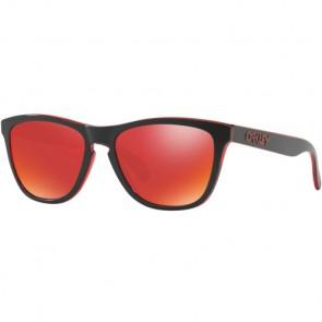 Oakley Frogskins Eclipse Sunglasses - Eclipse Red/Torch Iridium