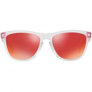 Oakley Frogskins Colorblock Sunglasses - Matte Clear/Torch Iridium