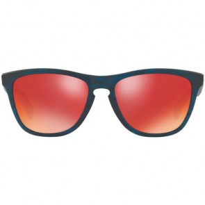 Oakley Frogskins Driftwood Sunglasses - Matte Blue Woodgrain/Torch Iridium