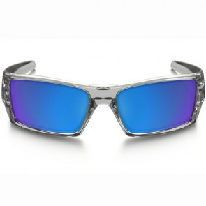 Oakley Gascan Sunglasses - Polished Clear/Sapphire Iridium