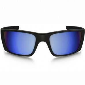 Oakley Fuel Cell Polarized Sunglasses - Matte Black/Prizm Deep Water