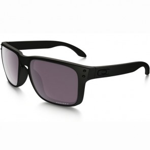 Oakley Holbrook Polarized Sunglasses - Matte Black/Prizm Daily