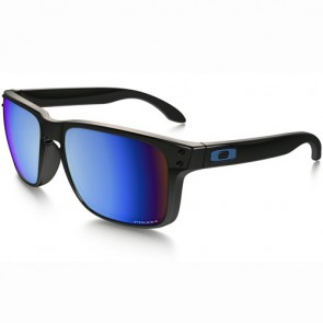 Oakley Holbrook Polarized Sunglasses - Polished Black/Prizm Deep Water
