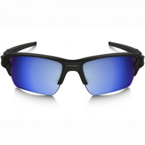Oakley Flak 2.0 XL Polarized Sunglasses - Matte Black/Prizm Deep Water