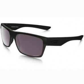 Oakley Twoface Covert Polarized Sunglasses - Matte Black/Prizm Daily