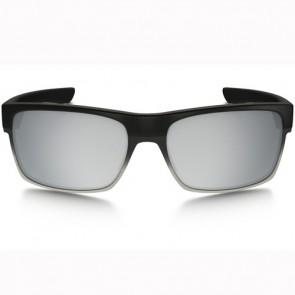 Oakley Twoface Machinist Sunglasses - Matte Black/Chrome Iridium