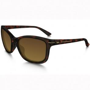Oakley Women's Drop In Polarized Sunglasses - Tortoise/Brown Gradient