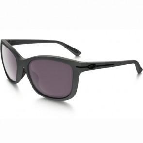 Oakley Women's Drop In Polarized Sunglasses - Steel/Prizm Daily