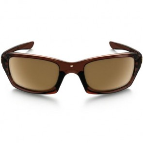 Oakley Fives Squared Sunglasses - Polished Rootbeer/Dark Bronze