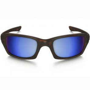 Oakley Fives Squared Polarized Sunglasses - Matte Tortoise/Prizm Deep Water