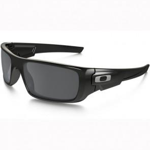 Oakley Crankshaft Sunglasses - Polished Black/Black Iridium
