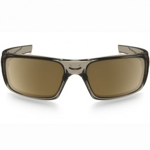 Oakley Crankshaft Polarized Sunglasses - Brown Smoke/Tungsten Iridium