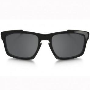 Oakley Sliver Polarized Sunglasses - Polished Black/Black Iridium