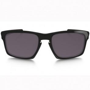 Oakley Sliver Polarized Sunglasses - Polished Black/Prizm Daily