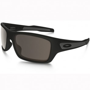 Oakley Turbine Sunglasses - Matte Black/Warm Grey