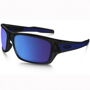 Oakley Turbine Sunglasses - Black Ink/Sapphire Iridium