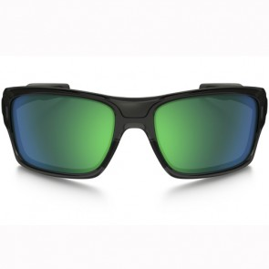 Oakley Turbine Polarized Sunglasses - Grey Smoke/Jade Iridium