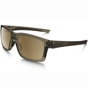 Oakley Mainlink Polarized Sunglasses - Matte Sepia/Tungsten Iridium