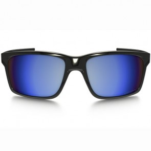 Oakley Mainlink Polarized Sunglasses - Polished Black/Prizm Deep Water