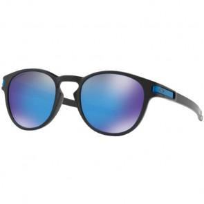 Oakley Latch Prizm Sunglasses - Matte Black/Sapphire Iridium