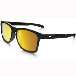 Oakley Catalyst Sunglasses - Polished Black/24K Iridium