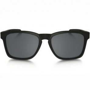 Oakley Catalyst Polarized Sunglasses - Matte Black/Black Iridium