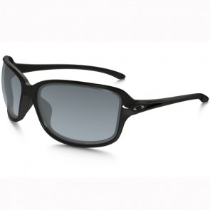 Oakley Women's Cohort Polarized Sunglasses - Polished Black/Grey Gradient