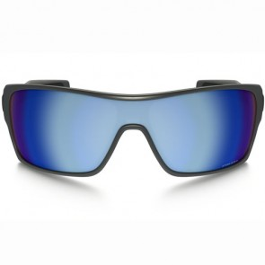 Oakley Turbine Rotor Polarized Sunglasses - Steel/Prizm Deep Water