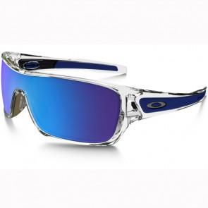 Oakley Turbine Rotor Sunglasses - Polished Clear/Sapphire Iridium