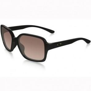 Oakley Women's Proxy Sunglasses - Polished Black/Vr50 Brown Gradient