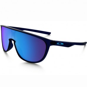 Oakley Trillbe Sunglasses - Matte Translucent Blue/Sapphire Iridium