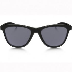 Oakley Women's Moonlighter Sunglasses - Polished Black/Grey