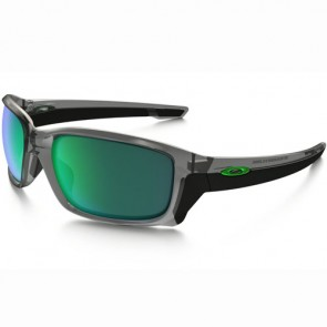 Oakley Straightlink Sunglasses - Grey Ink/Jade Iridium