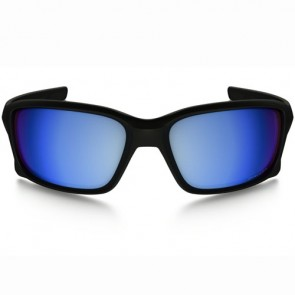 Oakley Straightlink Polarized Sunglasses - Matte Black/Prizm Deep Water
