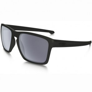 Oakley Sliver XL Polarized Sunglasses - Matte Black/Grey