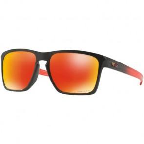 Oakley Sliver XL Prizm Sunglasses - Matte Black/Ruby Fade