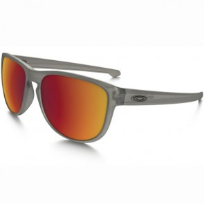 Oakley Sliver Round Polarized Sunglasses - Grey Ink/Torch Iridium