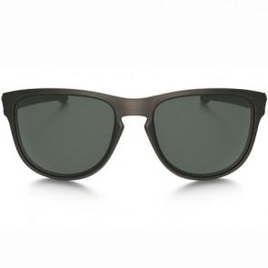 Oakley Sliver Round Sunglasses - Brown Tortoise/Dark Grey