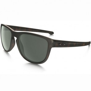 Oakley Sliver Round Sunglasses - Brown Tortoise/Dark Grey