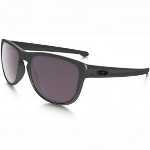 Oakley Sliver Round Polarized Sunglasses - Steel/Prizm Daily