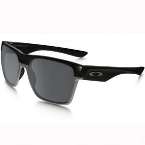 Oakley Twoface XL Polarized Sunglasses - Polished Black/Black Iridium