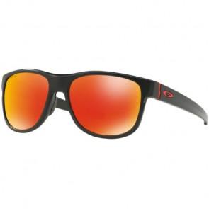 Oakley Crossrange R Prizm Sunglasses - Matte Black/Ruby