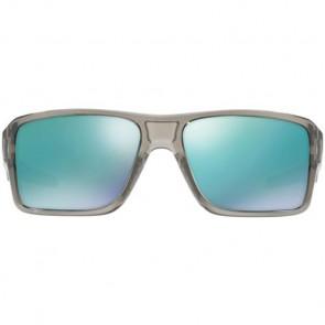 Oakley Double Edge Sunglasses - Grey Ink/Jade Iridium