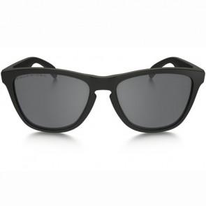 Oakley Frogskins Polarized Sunglasses - Matte Black/Black Iridium