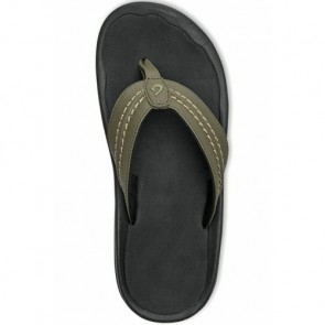 Olukai Hokua Sandals - Kona/Black