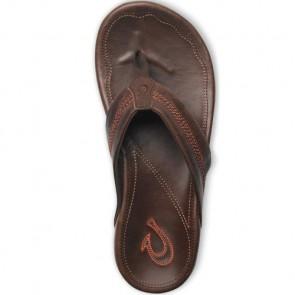 Olukai Maka Sandals - Dark Java
