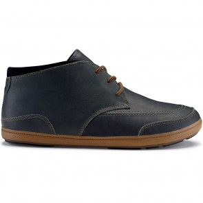 Olukai Pala Boots - Dark Shadow/Black