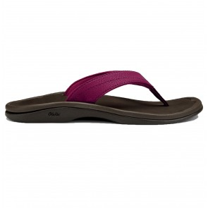 Olukai Women's Ohana Sandals - Pokeberry/Dark Java