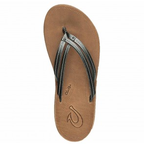 Olukai Women's U'I Sandals - Pewter/Sahara