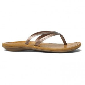 Olukai Women's U'I Sandals - Rose Gold/Sahara